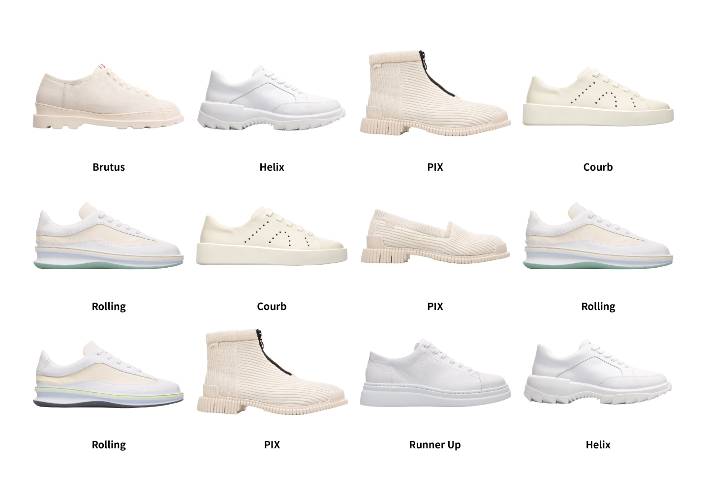 「camper Timelessness 台灣青年創作展」,來自熱情陽光的西班牙camper城市休閒鞋與台灣藝術家合作,邀請12組不同領域的創作者參與camper 2019春夏白鞋創作。
