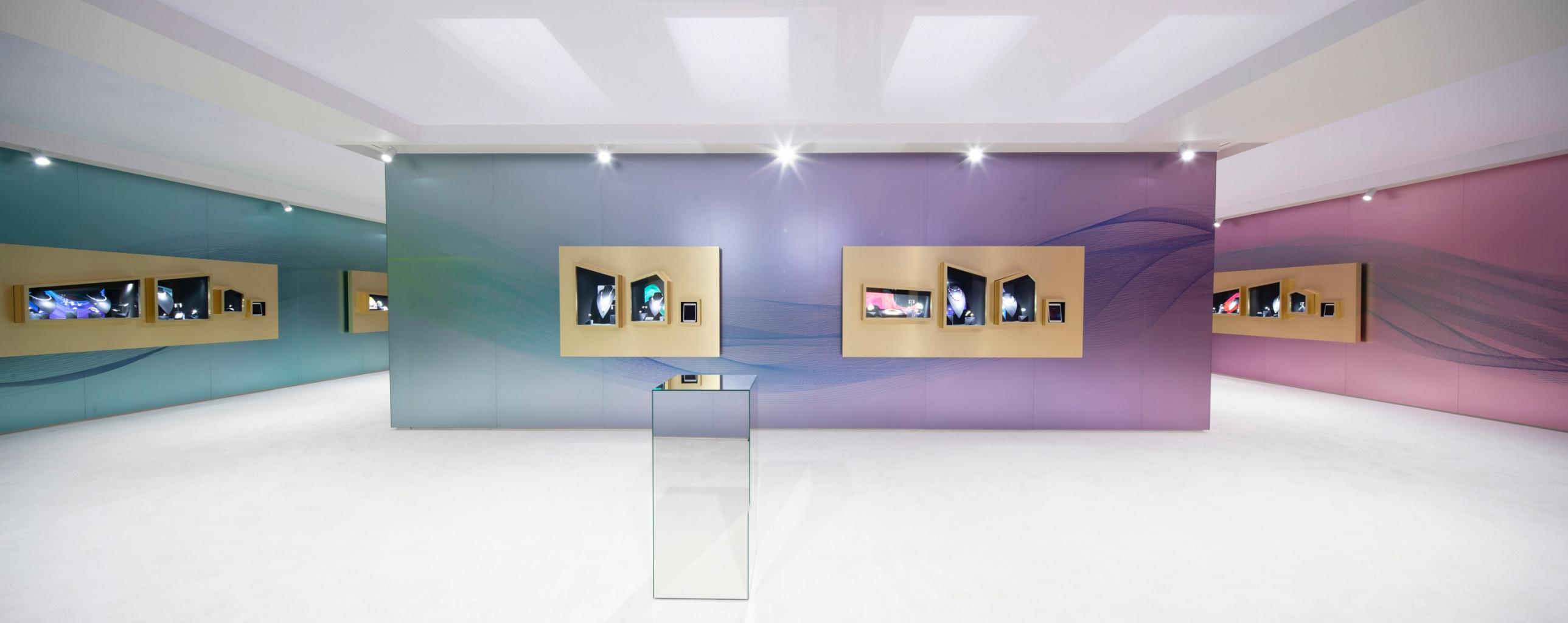 卡地亞coloratura頂級珠寶系列空間