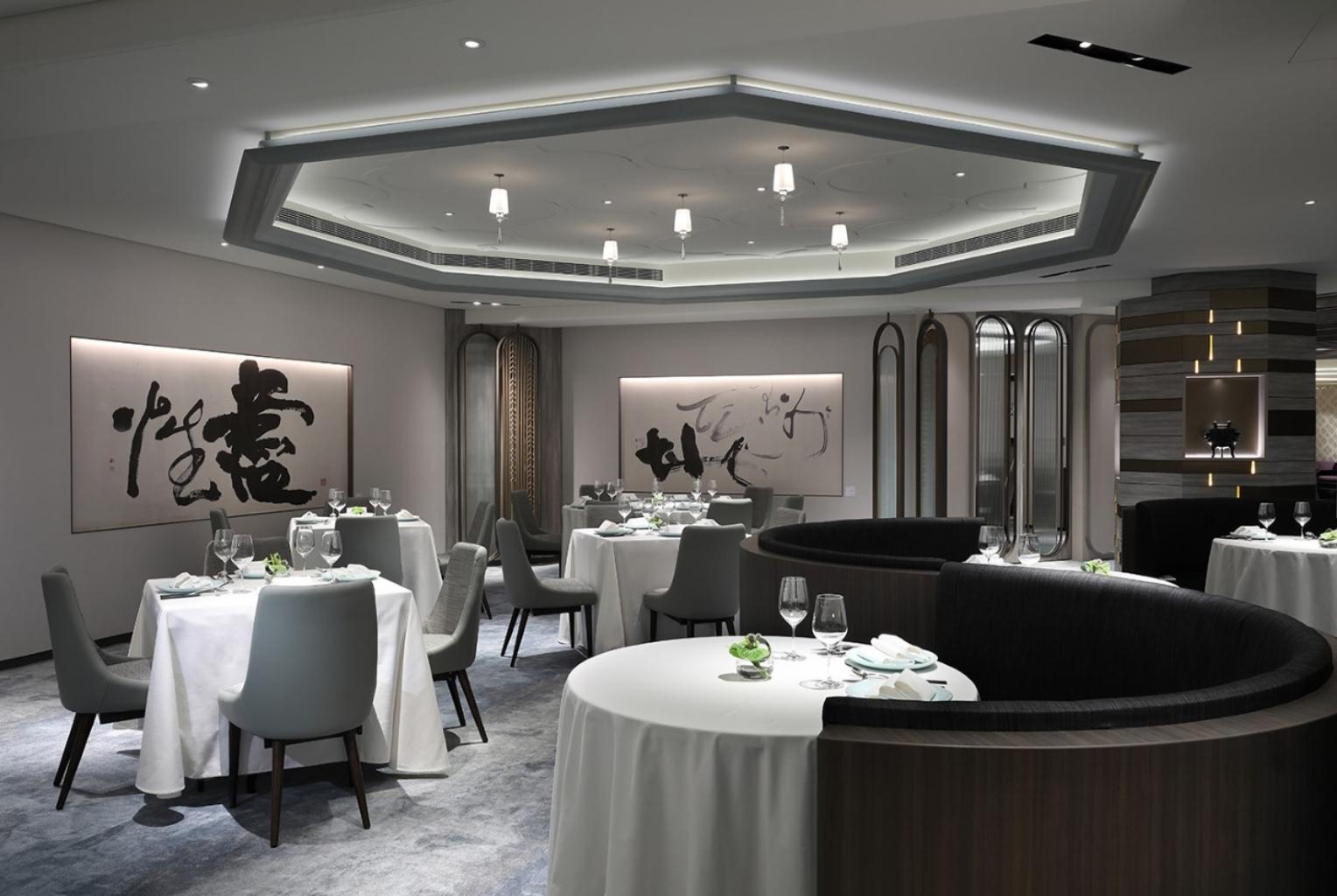台北亞都麗緻大飯店天香樓廳景