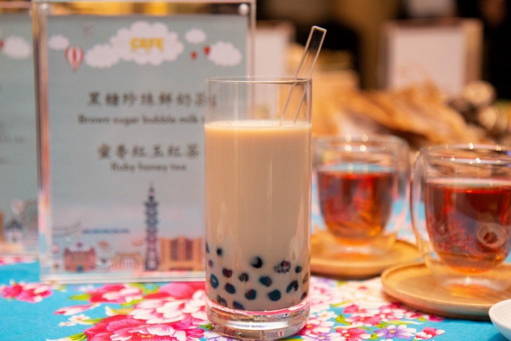 台北君悅 凱菲屋台灣美食節 黑糖珍珠鮮奶茶