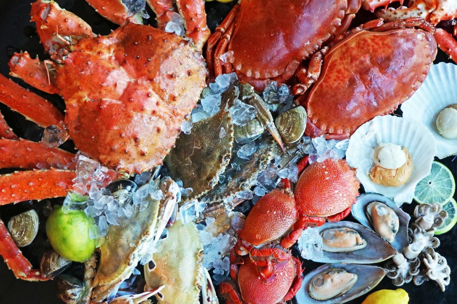 台北士林萬麗酒店士林廚房「超級敢蟹」秋蟹主題料理