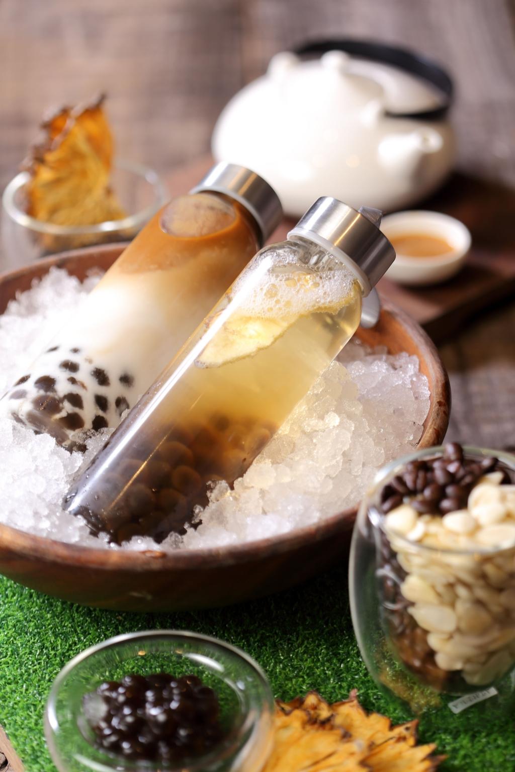 台北晶華 兩款夏季珍珠飲品 沁涼抵禦艷夏熱浪
