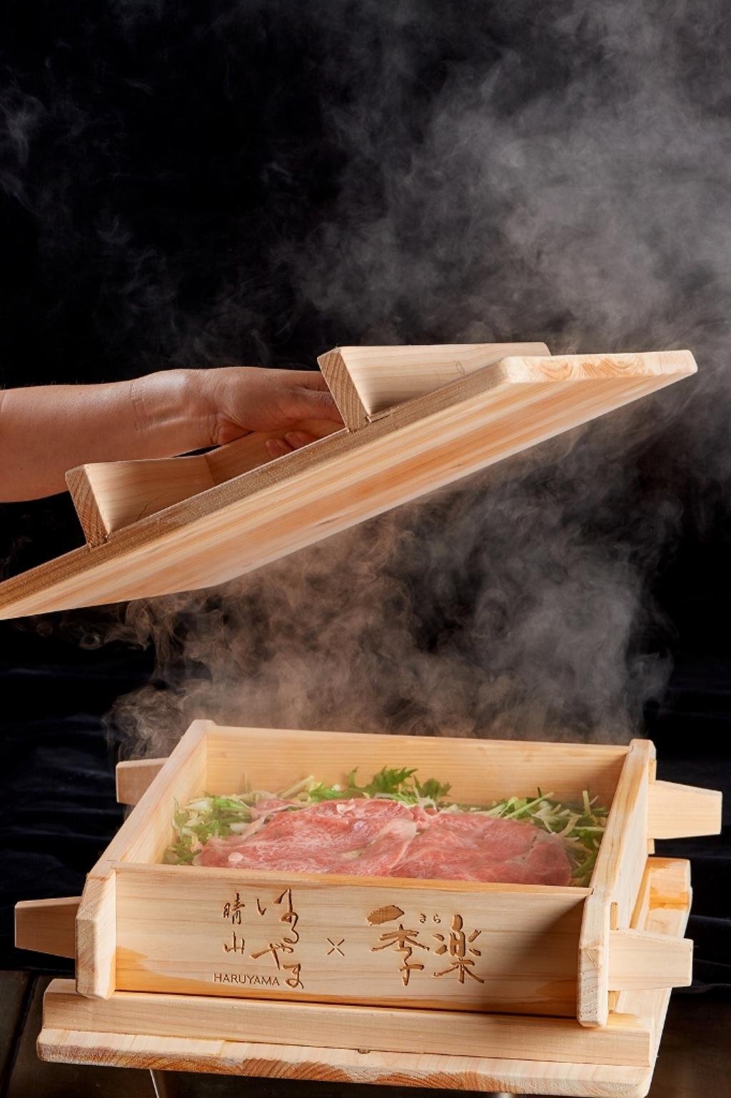 台北美福大飯店「週遊美福」晴山日本料理蒸香鮮牛宴
