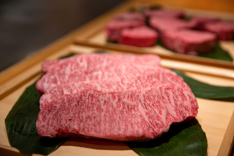 台北美福大飯店 佐賀和牛宴記者會 A5佐賀沙朗牛