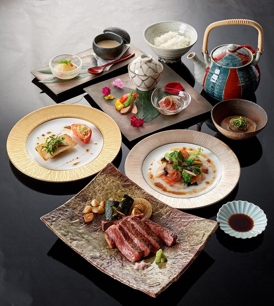 台北美福大飯店 晴山日本料理 鐵板燒套餐