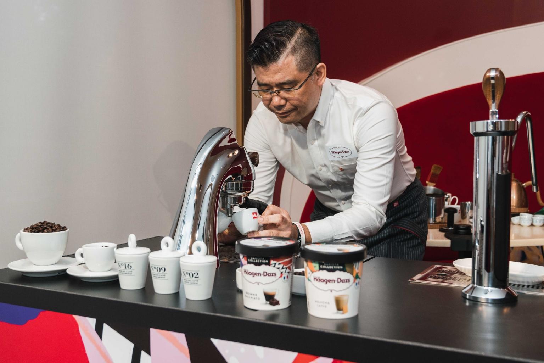 哈根達斯illy咖啡首席咖啡師