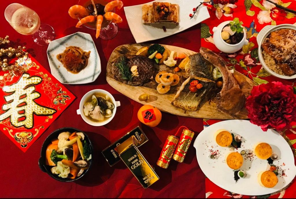 天成文旅 華山町 華山町餐酒館新年分享餐
