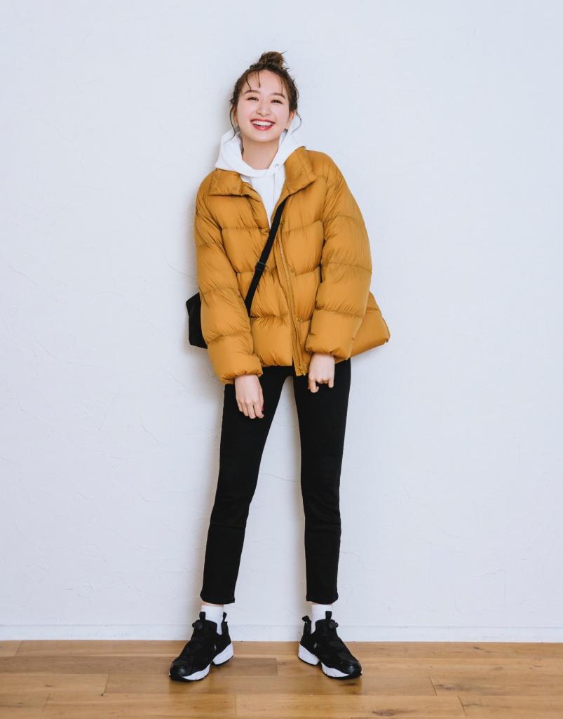 女式特級超輕羽毛繭形外套
