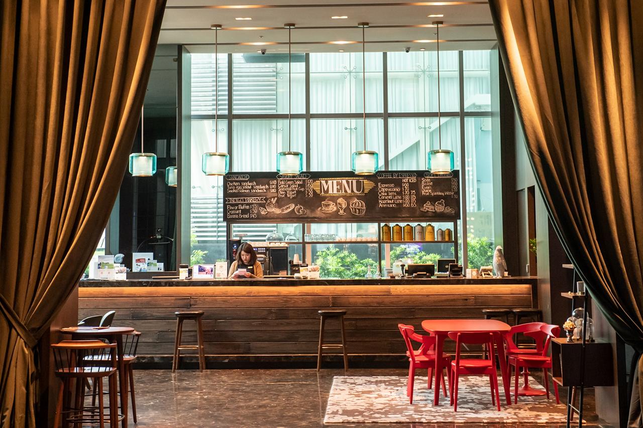 新竹英迪格酒店gd5 Cafe