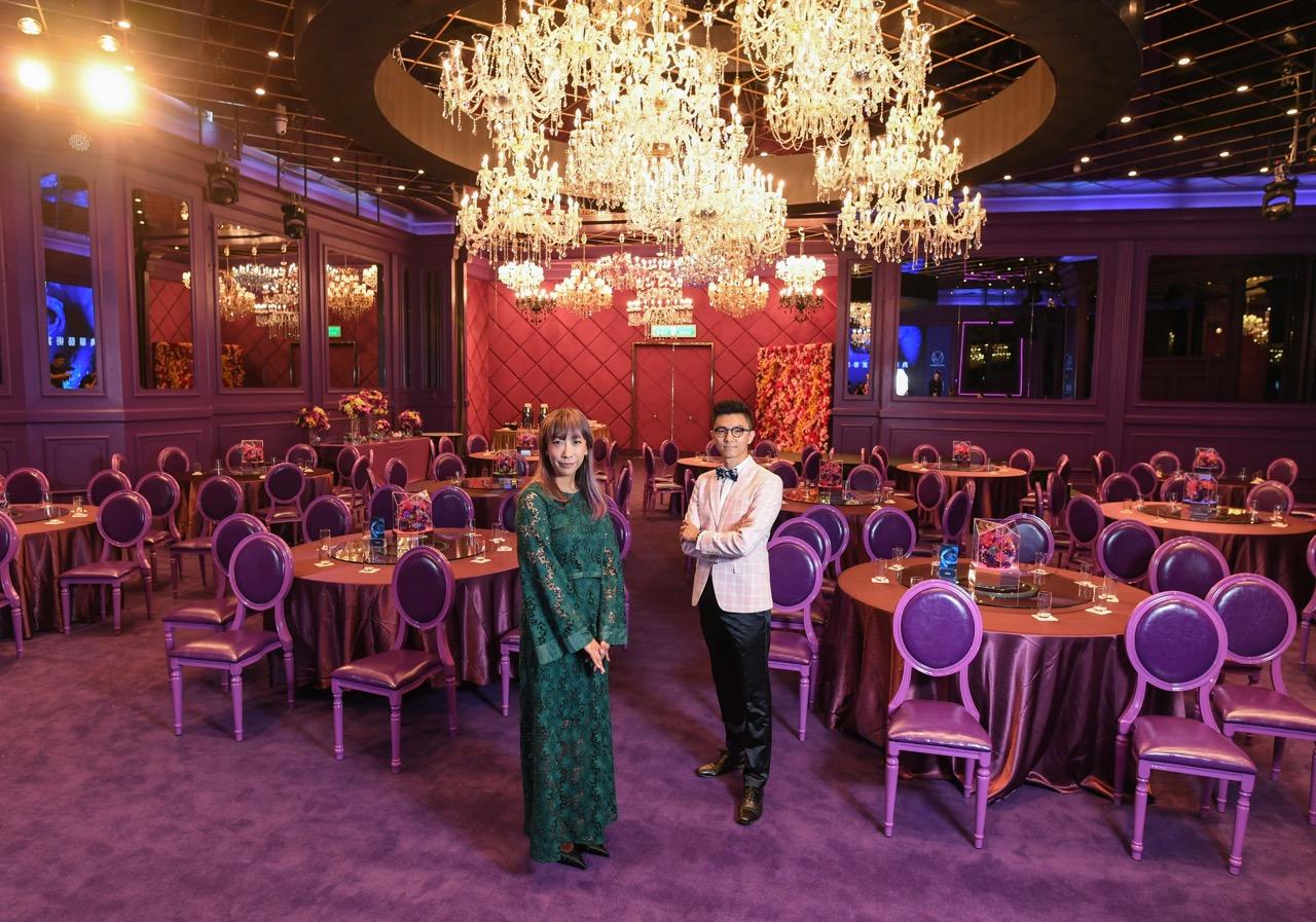 新聞圖片五:典華與蜷川實花團隊合作,以國際級藝術品來打造絕美宴會空間,挑戰全球最夢幻婚宴廳房稱號