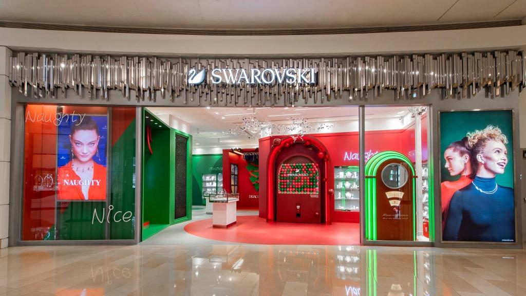 施華洛世奇聖誕概念店