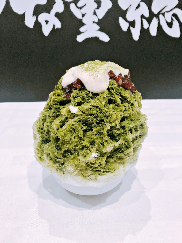 日式刨冰 抹茶紅豆牛奶口味
