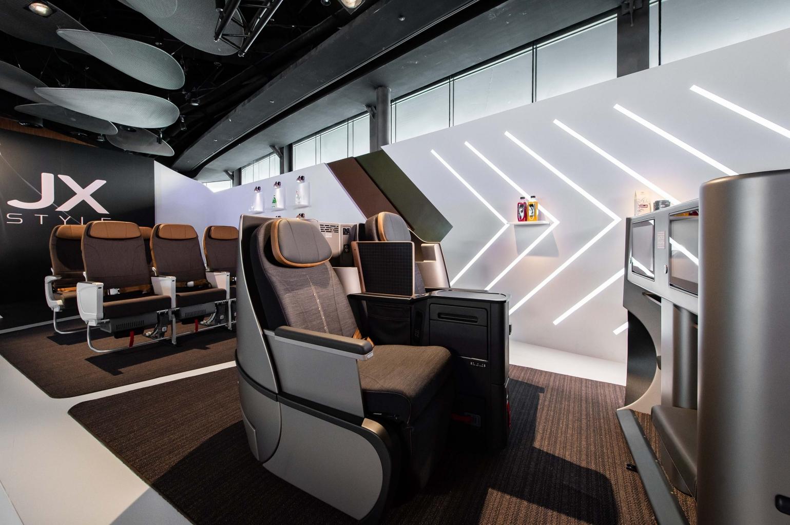 星宇航空jx Style制服及機艙設備發表會