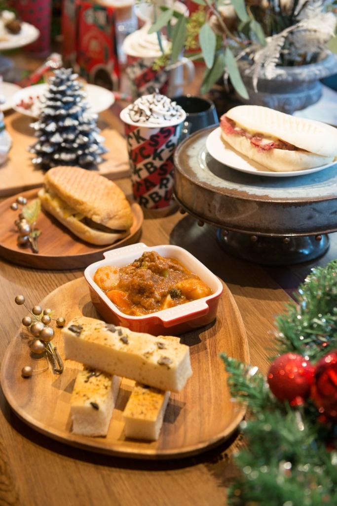 星巴克11月6日耶誕檔期同步上市備受期待的星想餐名廚系列