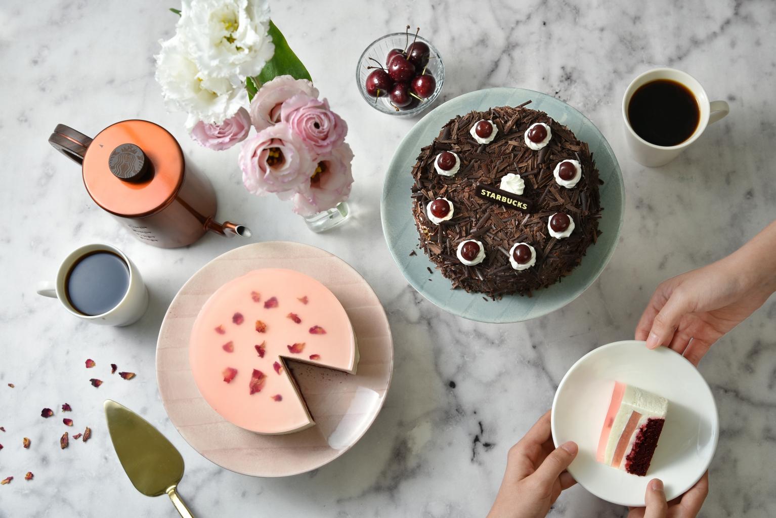 星巴克2019母親節蛋糕