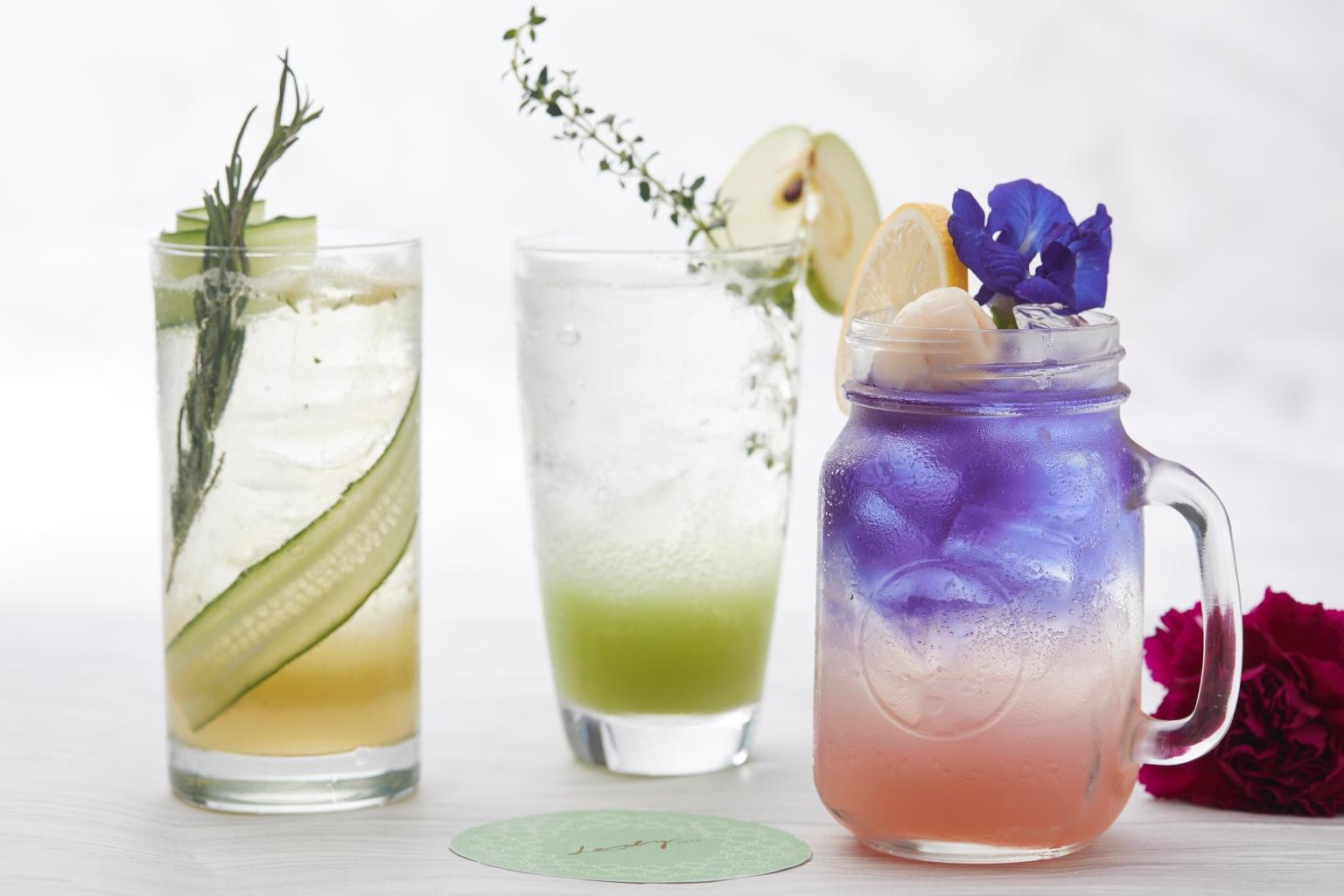 曼谷超夯繽紛色彩夢幻飲品 好拍又沁涼消暑