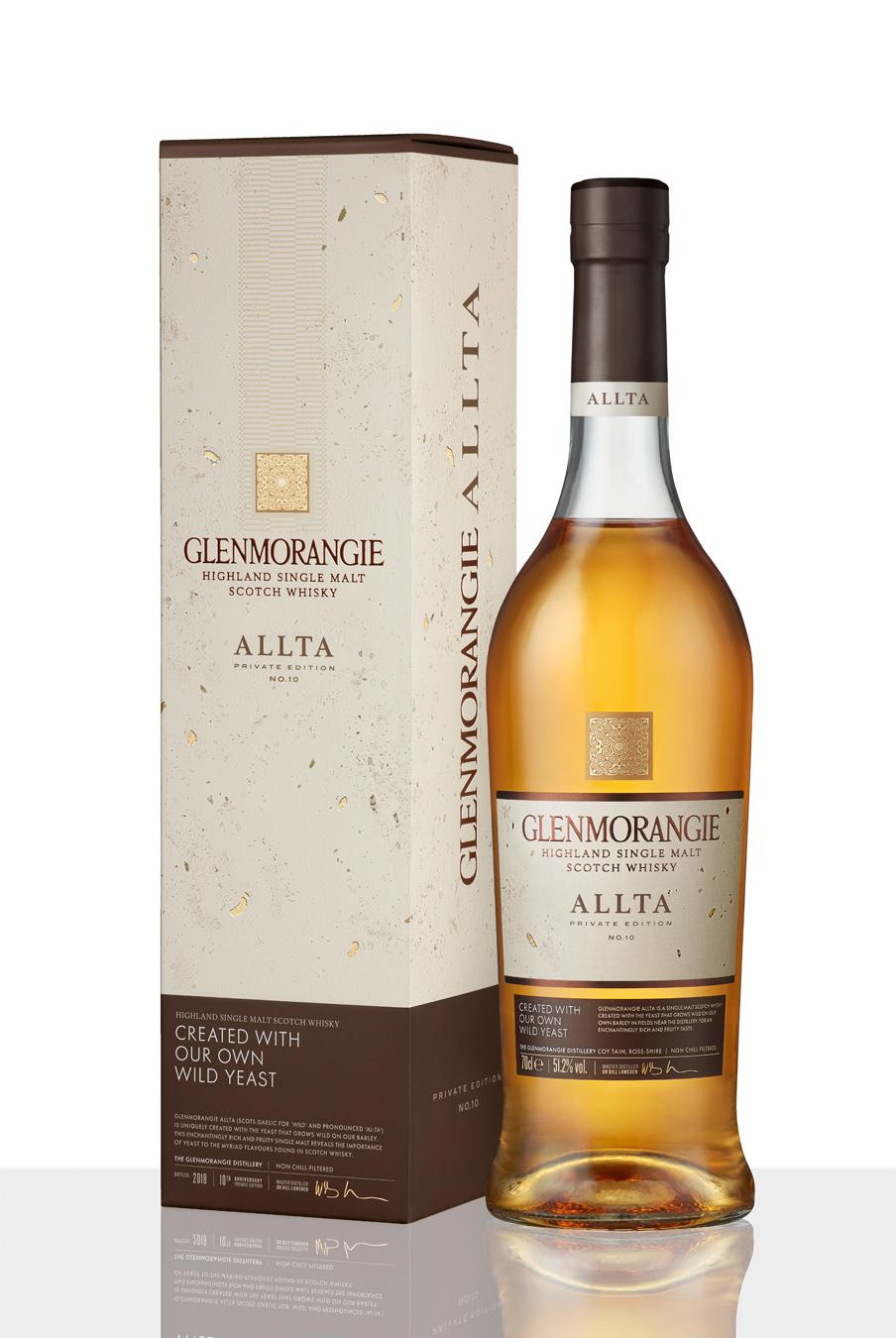 格蘭傑私藏系列第十款 Glenmorangie Allta《野生》 酒瓶與外盒