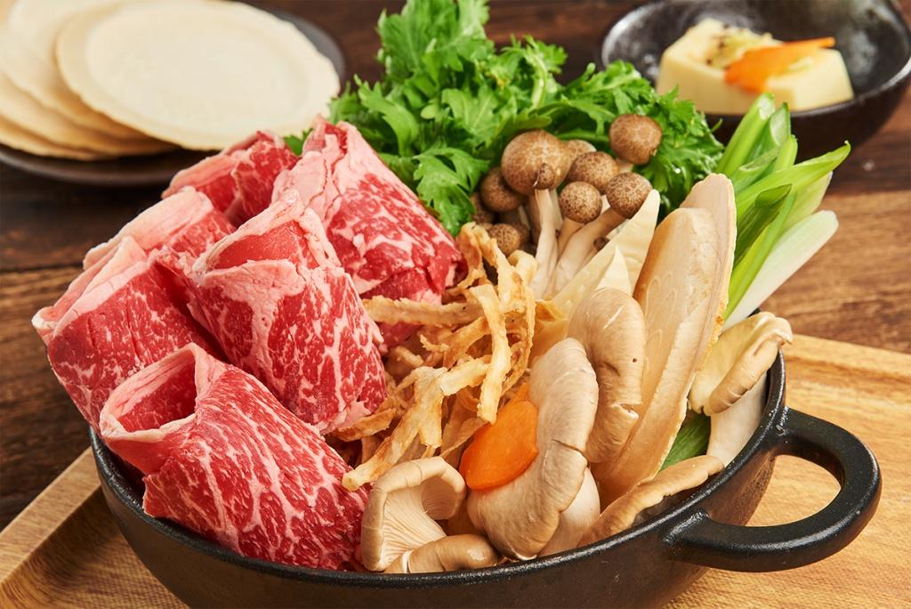 特選牛肉壽喜燒