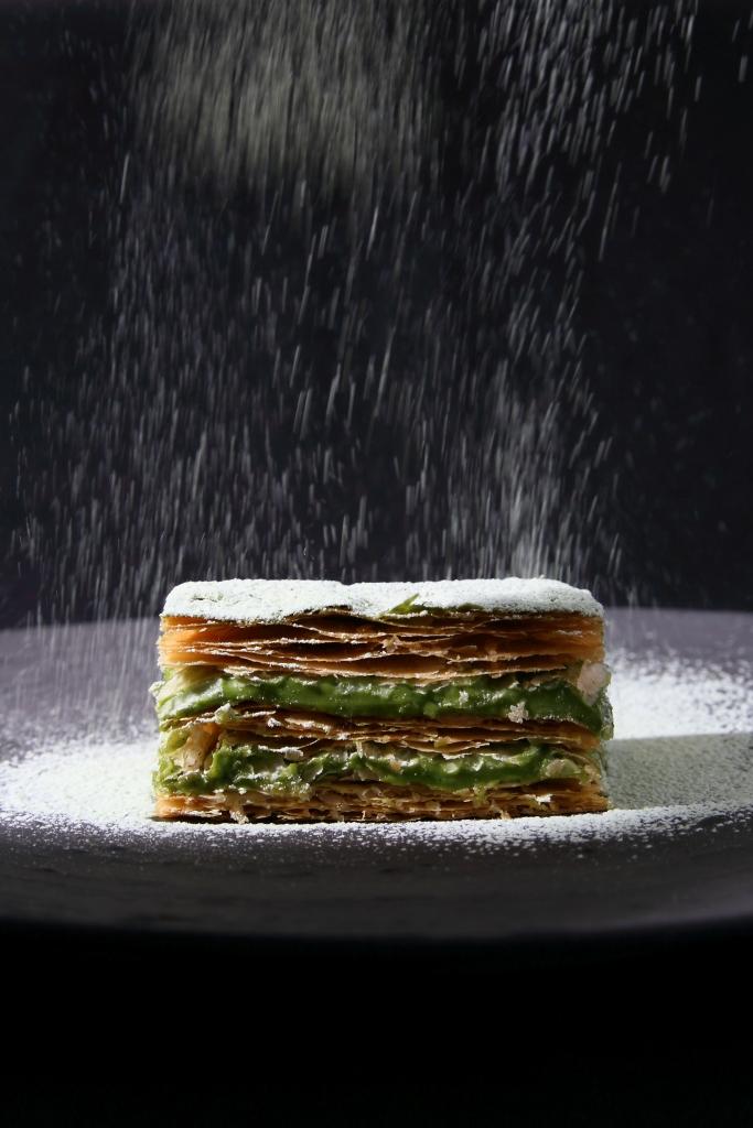 福岡八女抹茶奶油千層酥