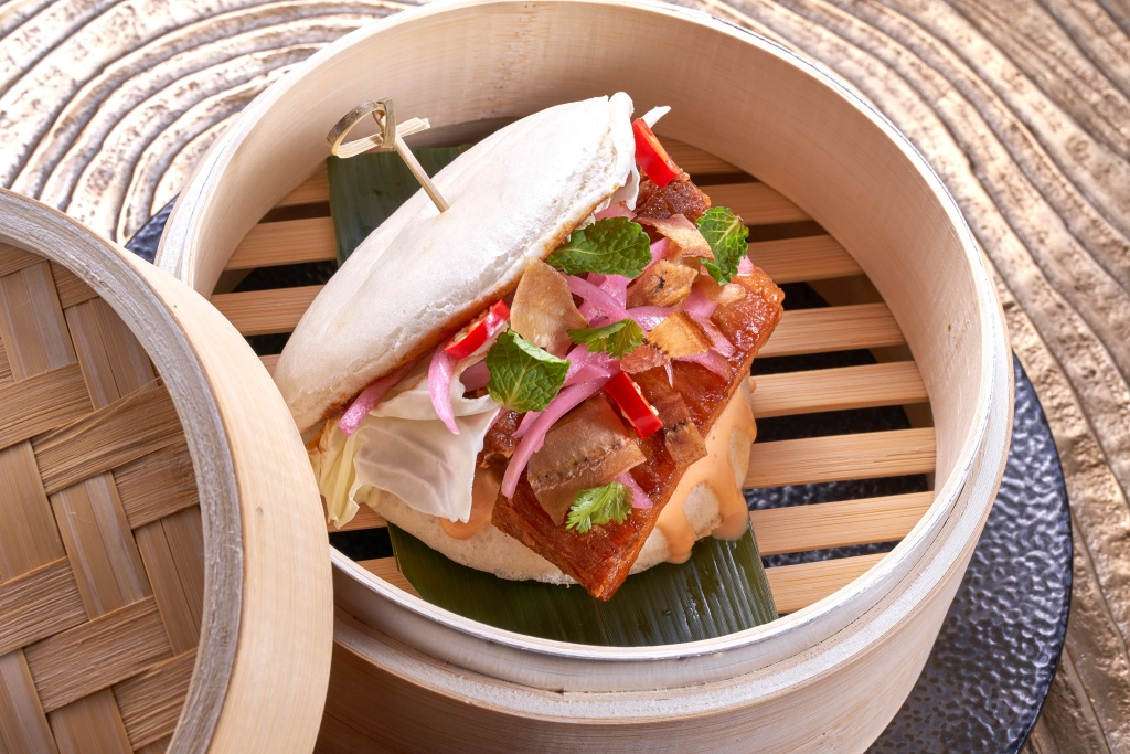 秘魯式燉炸豬肉三明治