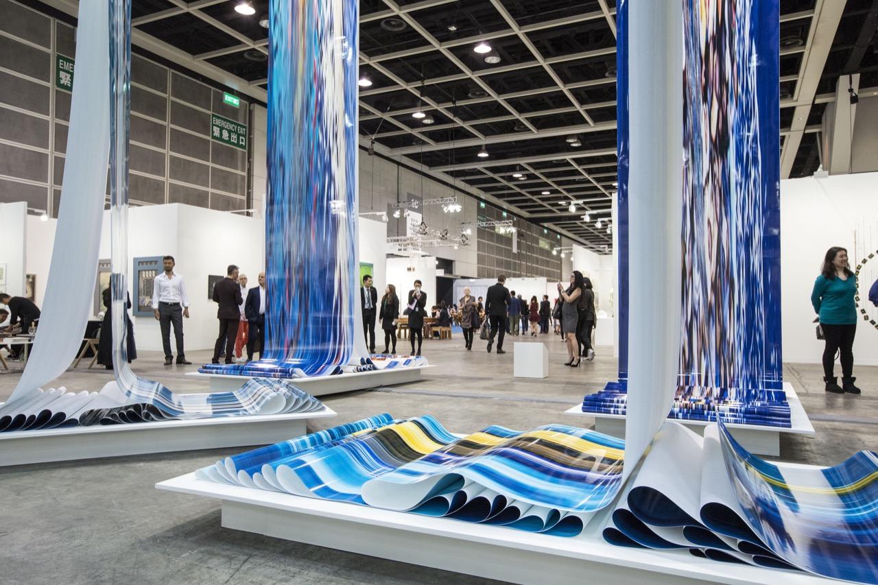 第七屆的香港巴塞爾藝術展邀請了來自36個國家共242間藝廊參展