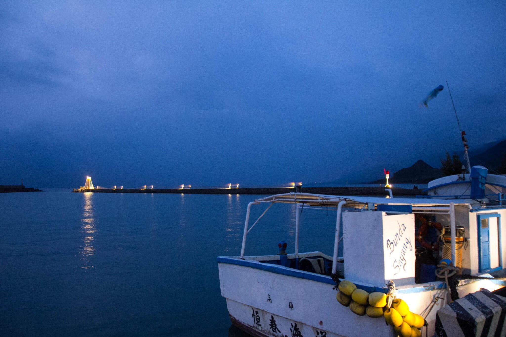 落山風藝術季 海口碼頭望出去
