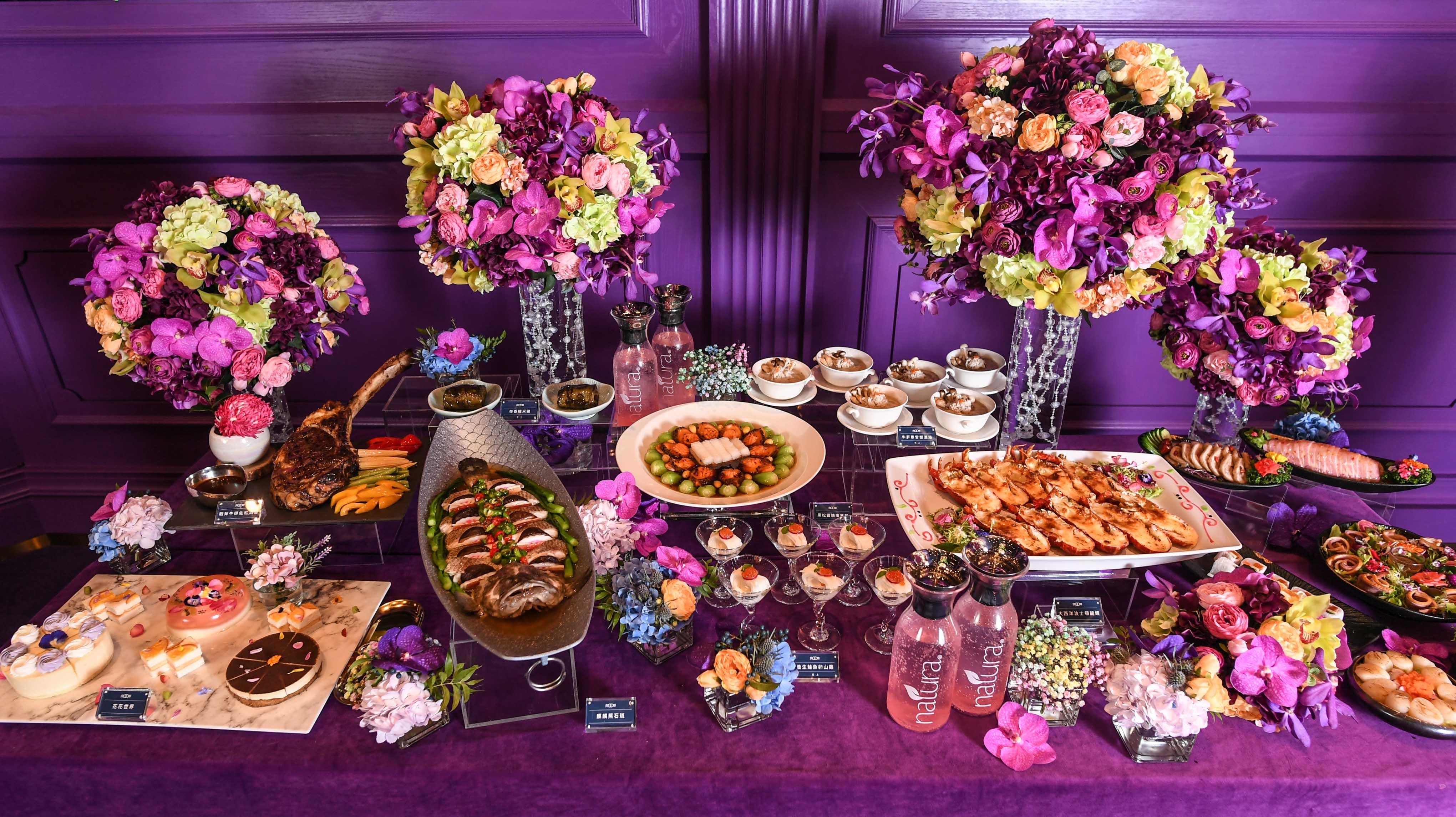 蜷川實花mika廳公開亮相,典華也請頂級廚藝團隊研發蜷川實花精選婚宴佳餚