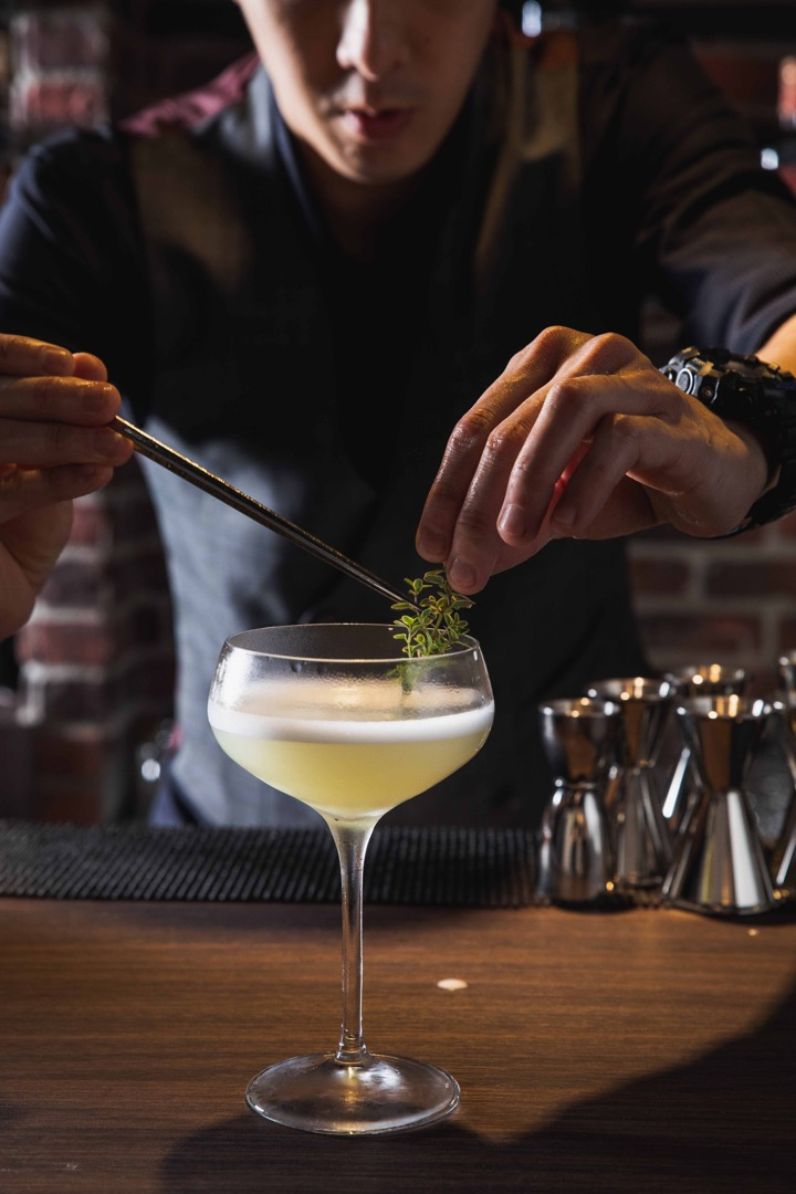 調酒師以喜劇為靈感,設計與店同名的特調雞尾酒23 Comedy Club
