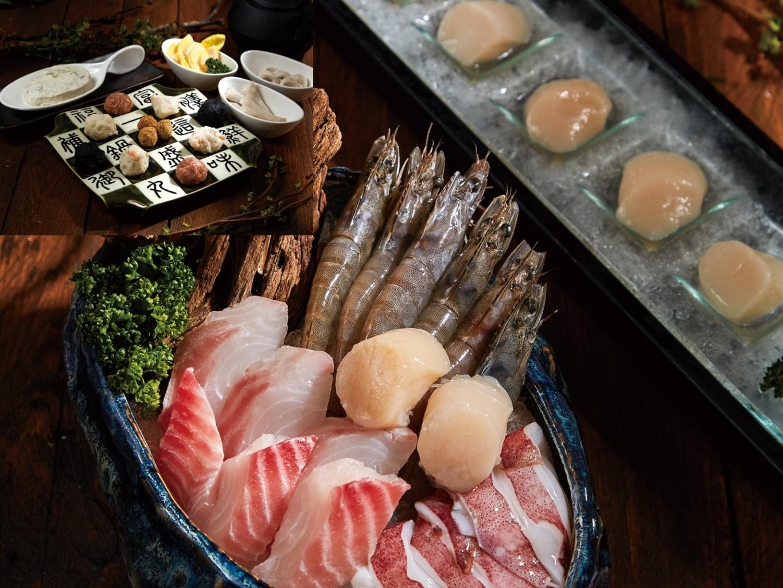 這一鍋海鮮拼&丸餃滑