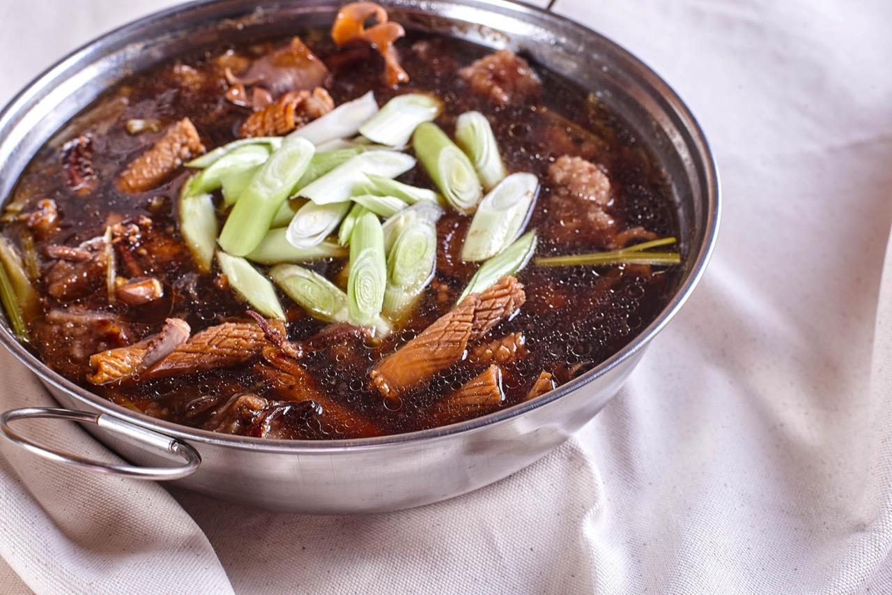 頤宮中餐廳 魷魚螺肉蒜