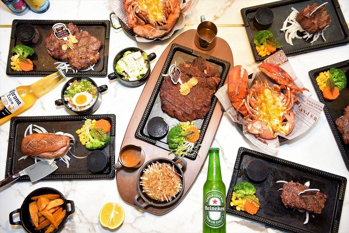 餐點消費者極致的味覺與視覺饗宴