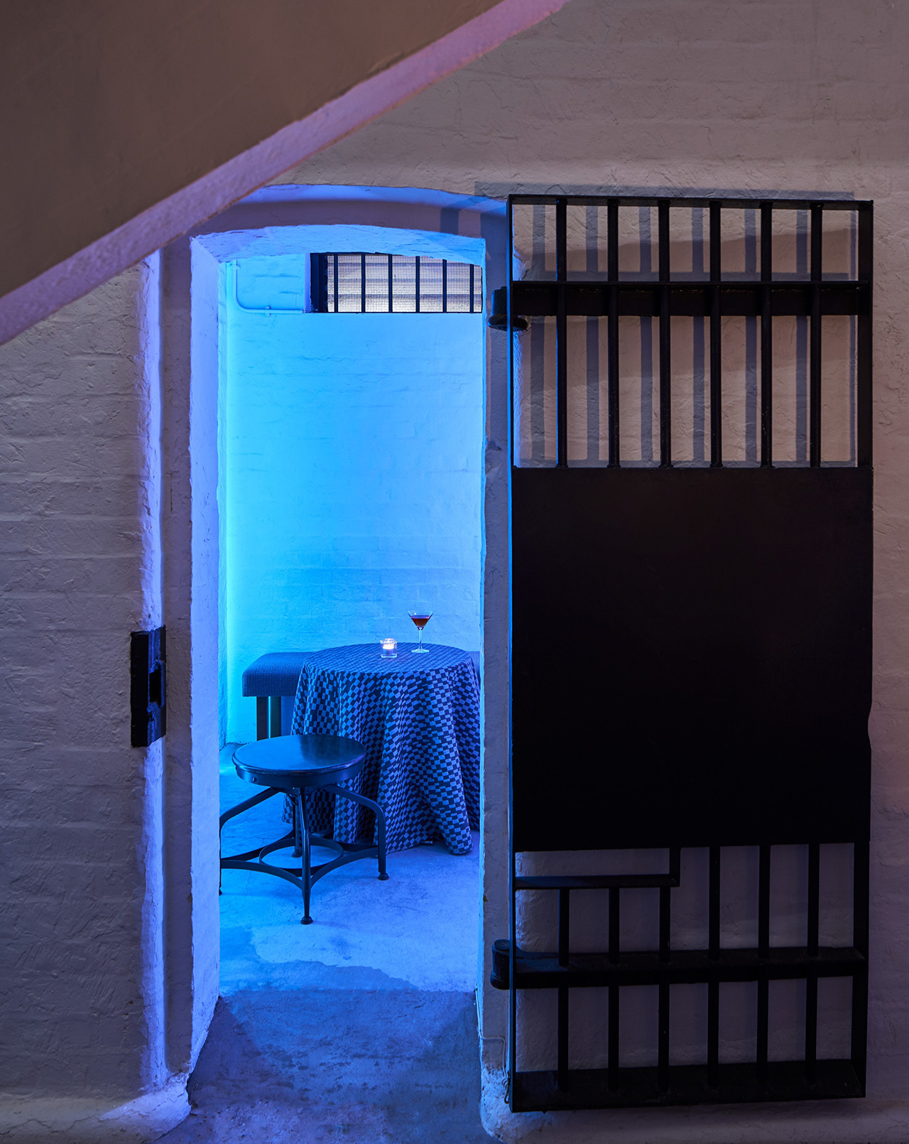 Behind Bars Cell Table
