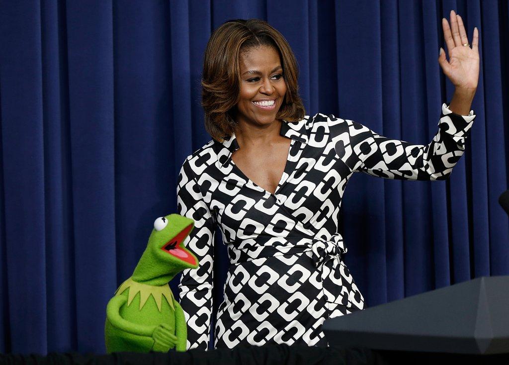 Along Michelle Obama