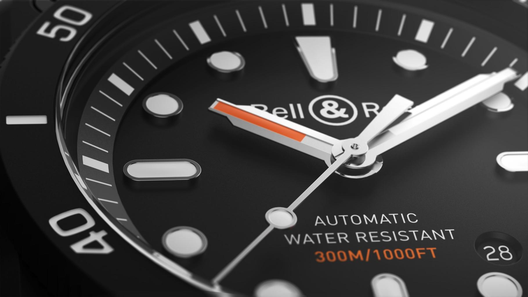 Br03 92 Diver Ceramic黑陶瓷潛水錶
