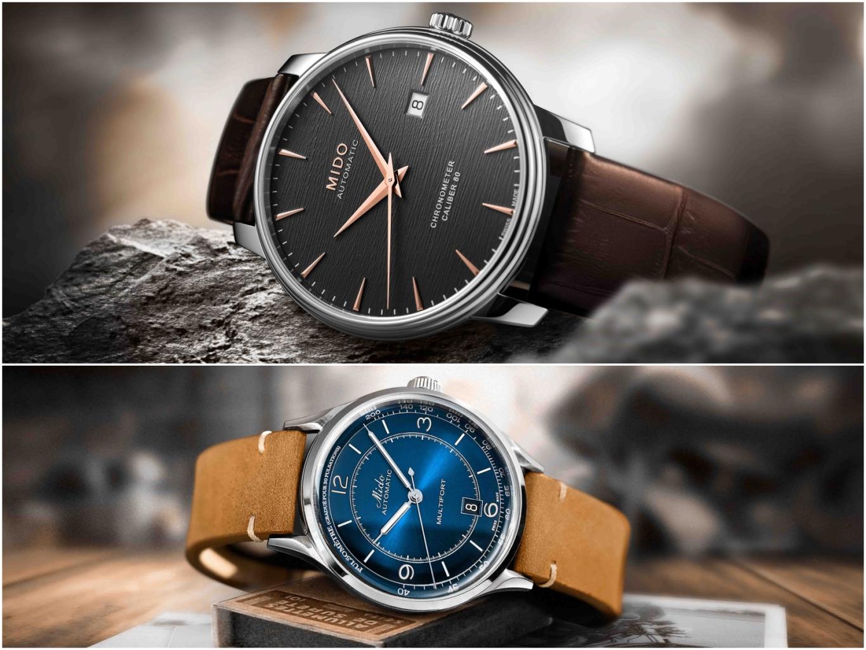 Baroncelli Iii Chronometer永恆系列天文台認證矽游絲腕錶&multifort Patrimony 先鋒系列傳承者脈搏腕錶