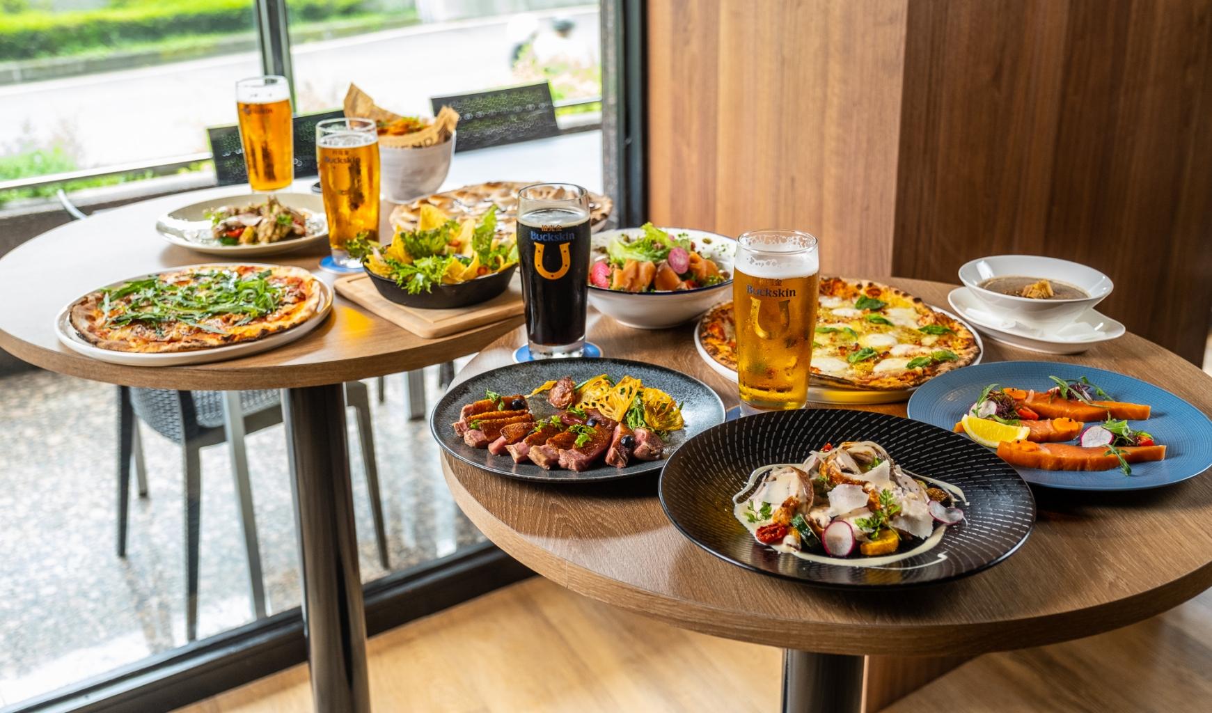 Buckskin Beerhouse南京店將於明(17)日正式開幕,推出多道南京店限定美食