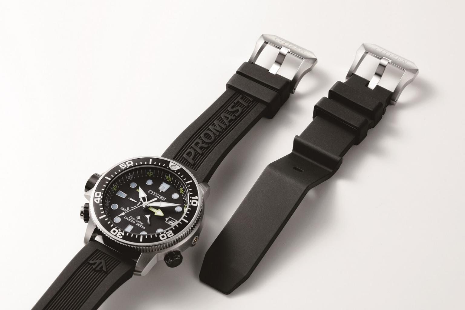 Citizen Bn2036 14e橡膠錶帶
