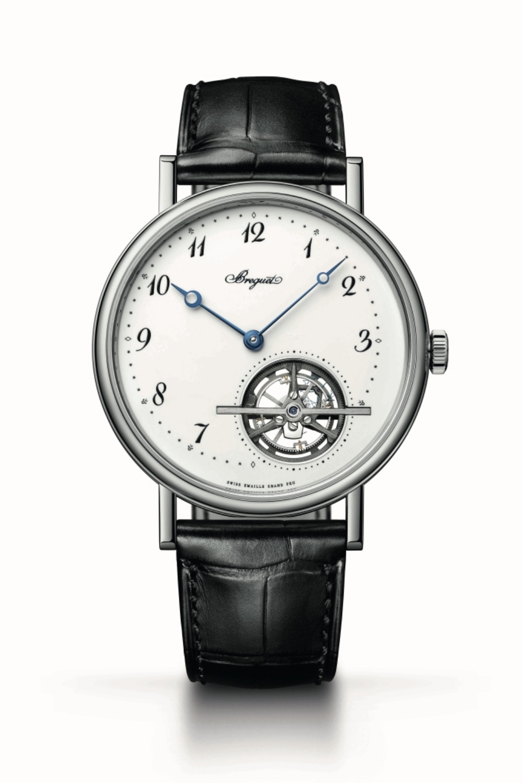 Classique Tourbillon Extra Plat Automatique 5367經典系列超薄陀飛輪大明火琺瑯腕錶,價值nt$ 5,218,000