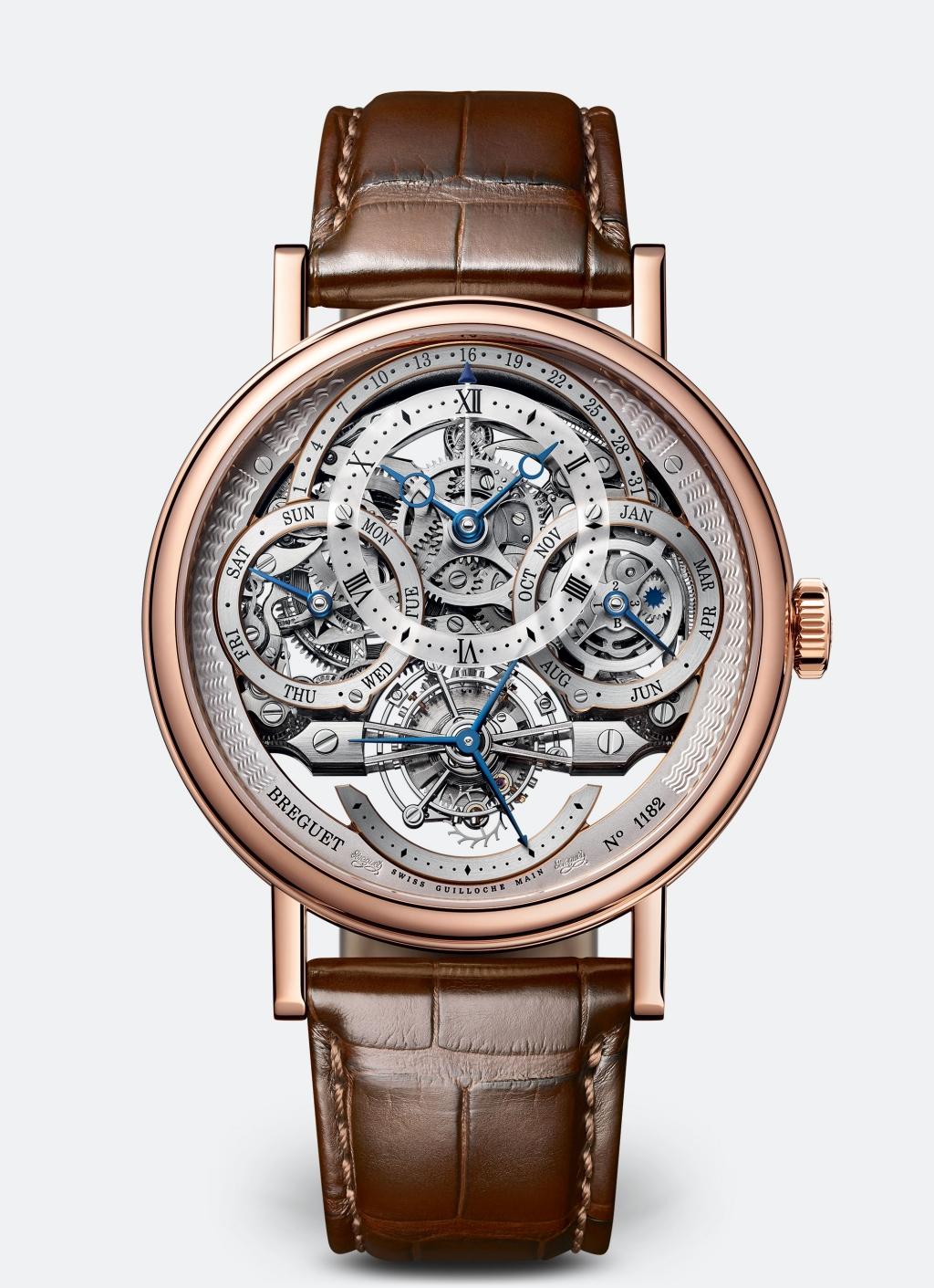 Classique Tourbillon Quantième Perpétuel 3795 經典系列萬年曆鏤空陀飛輪腕錶,價值nt$ 7,761,000