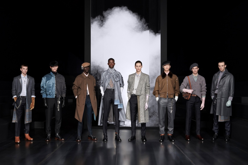 Dior Men's Winter 20 21 Groupshot By Brett Lloyd For Dior