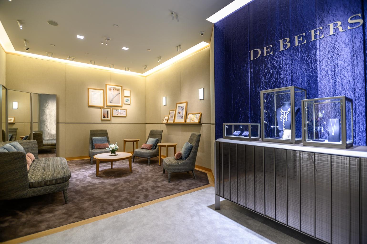 De Beers台北101精品店