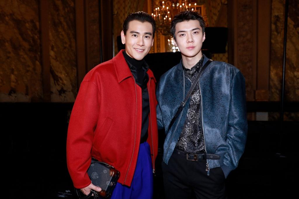 Eddie Peng And Sehun Oh