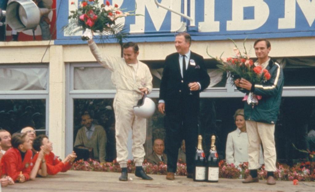 Ford在1966年的利曼24小時耐力賽奪下該賽事前三名