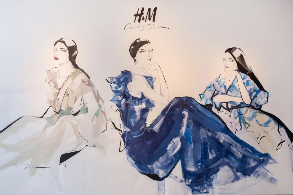 H&m時尚插畫家
