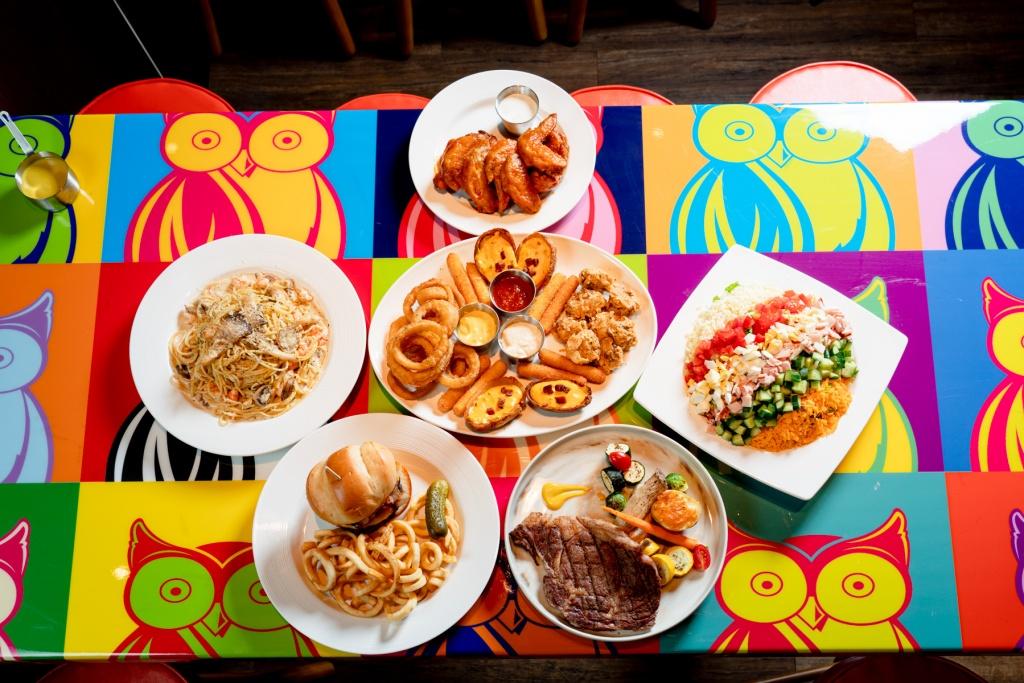 Hooters信義店食物多樣化