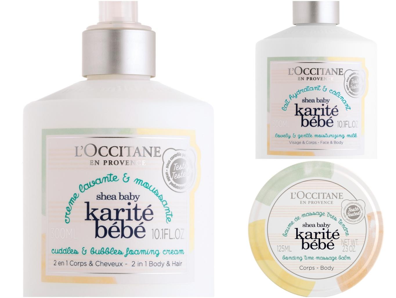 L'occitane乳油木寶寶身體乳&沐浴乳&按摩霜