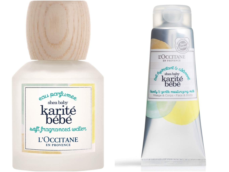 L'occitane乳油木寶寶身體乳&香氛
