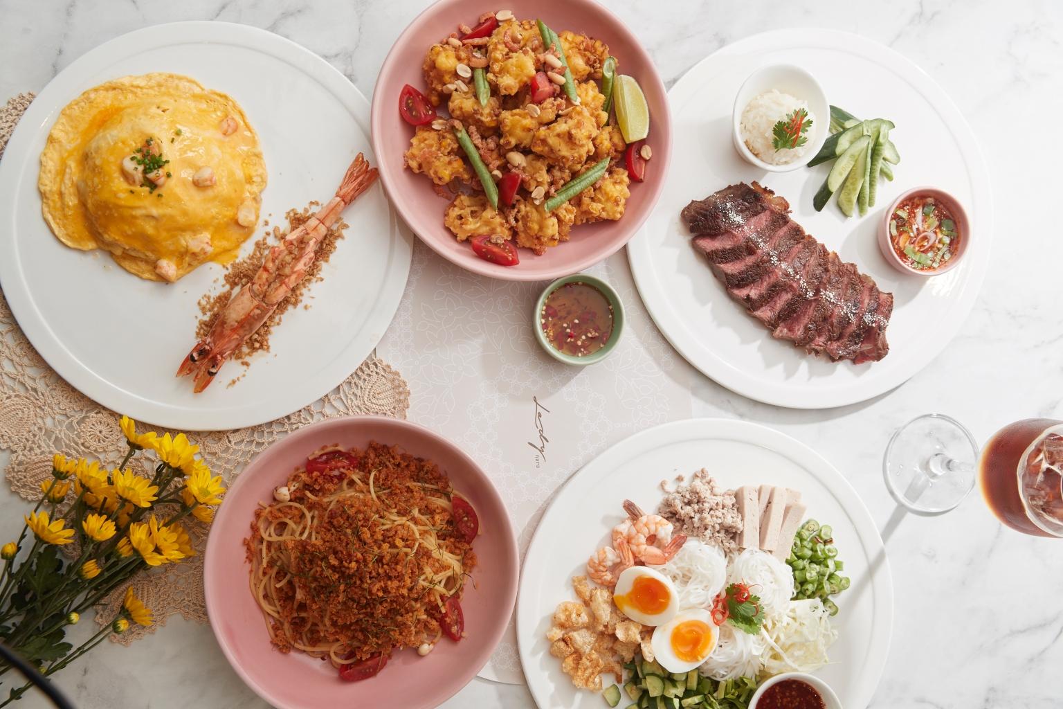 Lady Nara大玩泰食與異國料理混血,多達59道的新泰食料理