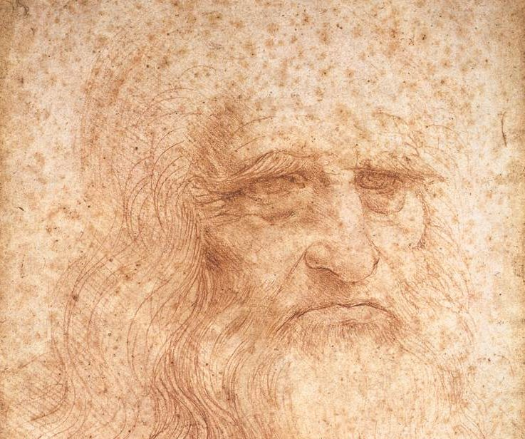 Leonardo Da Vinci Presumed Self Portrait Wga12798