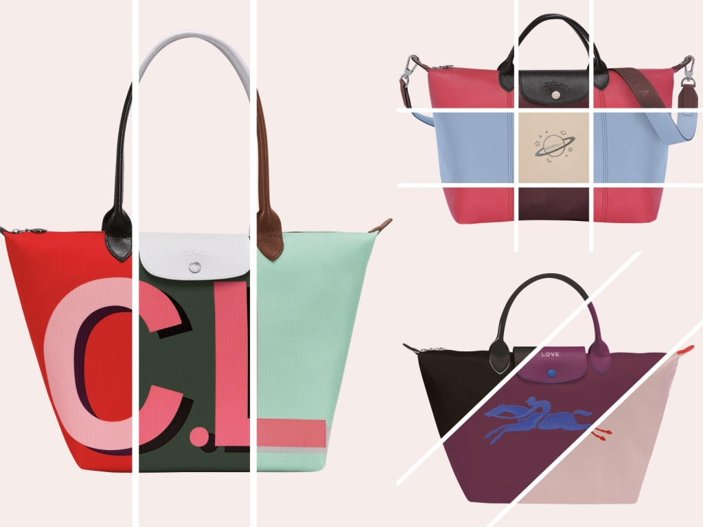Longchamp My Pliage訂製系列